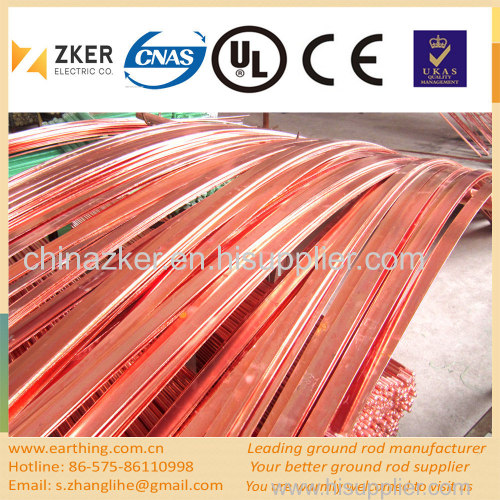 copper weld steel flat bar
