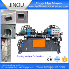 tube flaring machine for ladders