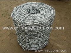 Hot-dip galvanized fencing barbed wire price per roll