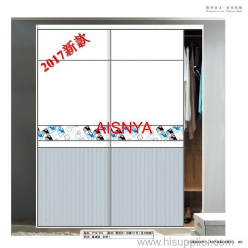 Bedroom furnitures chest & wardrobe door sliding door made by wooden sheet OEM & ODM