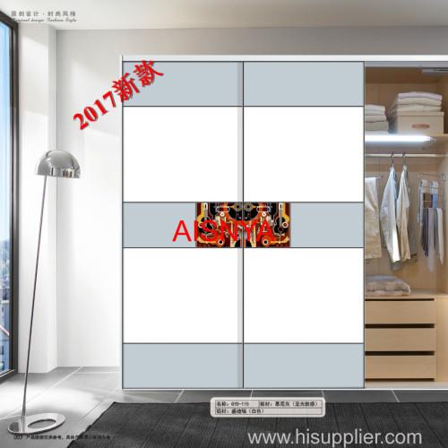 Bedroom furnitures chest & wardrobe sliding door made by wooden sheet OEM & ODM