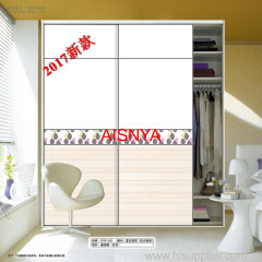2017 New designs for bedroom furniture wardrobe door and home decoration