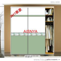 2017 New Fashion ontwerpt voor slaapkamermeubilair kastdeur en woondecoratie