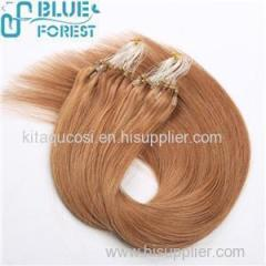 Wholesale Factory Price Tangle Free No Shedding Remy Hair Micro Ring Hair Extensions