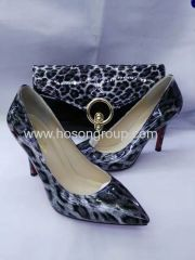 Laides Leopard shoes and bags