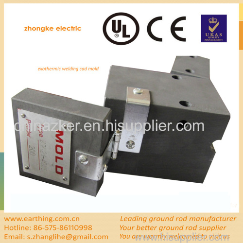 best price exothermic welding cad mold
