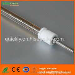 Medium wave single tube infrared emitter