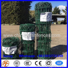 Garden Border Fencing Green PVC Coated Lawn Edging Fence