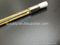 Golad plated single tube IR emitter