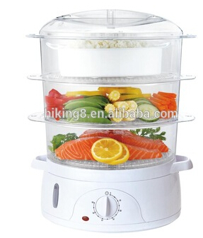 Multi-purpose Electric mini Digital Timer Control food steamer