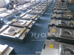 Clean room FFU fan filter unit