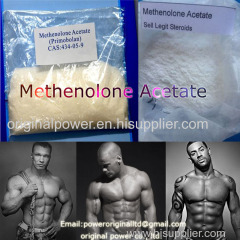 Builds Lean Muscle Anabolic Raw Steroid Hormone Powder Me-thenolone Acetate