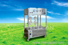 Laminar flow trolley for cleanroom
