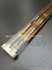 Medium wave twin tube IR heater