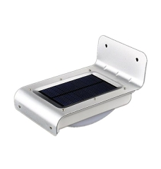16LED Aluminium Outdoor Solar wandlamp
