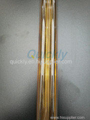 Medium wave gold reflector infrared lamp