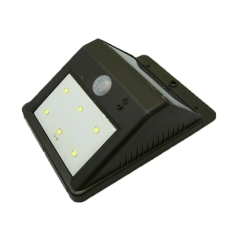 6LED 800mAh Motion Sensor Waterproof Solar Wall Lights