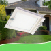 46LED 1700mAh Motion Sensor Waterproof Solar Wall Lights