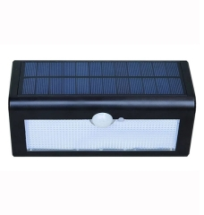 38LED 4400mAh Motion Sensor Waterproof Solar Wall Light
