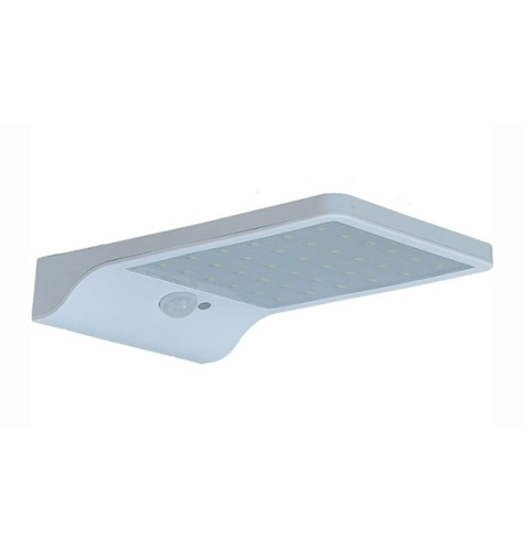 48LED 4400mAh Motion Sensor Waterproof Solar LED Wall Lights