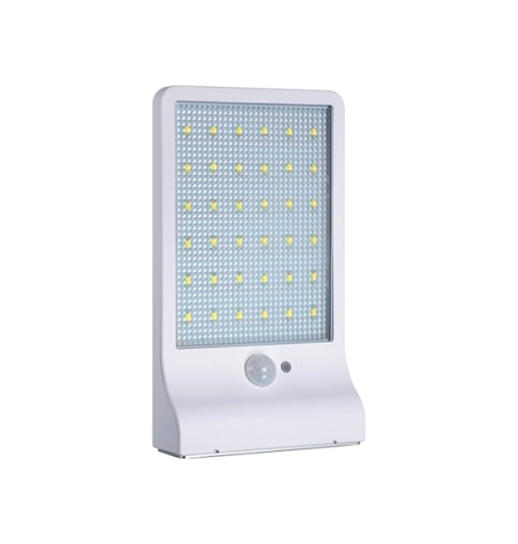 36LED 2200mAh Motion Sensor Garden Solar Wall Light