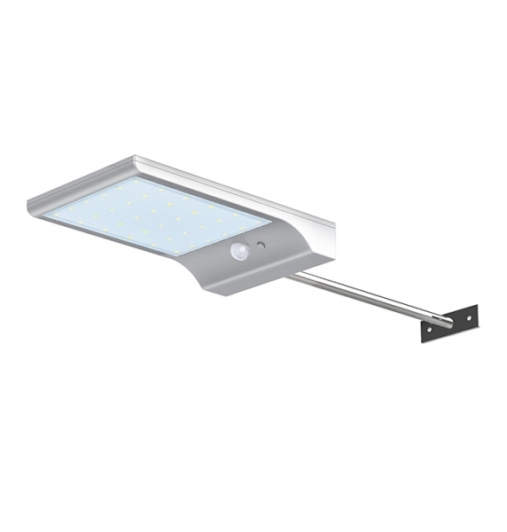 36LED With Pole Outdoor Solar Wall Light