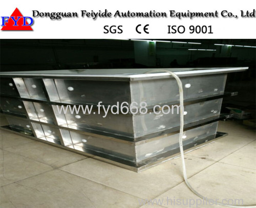 Feiyide Customized PVDF Plating Tank Machine for Chrome Electroplating Equipment With OEM