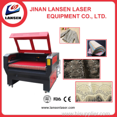LP-C1610 Auto feeding CO2 Laser cutting machine for fabric cloth lazer engraver
