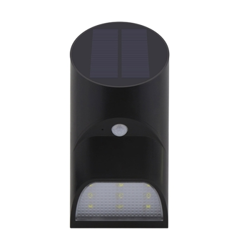 9LED 2200mAh Motion Sensor Outdoor Solar Wall Lights