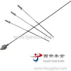 Ir-Ta Titanium Electrode for Water Heater