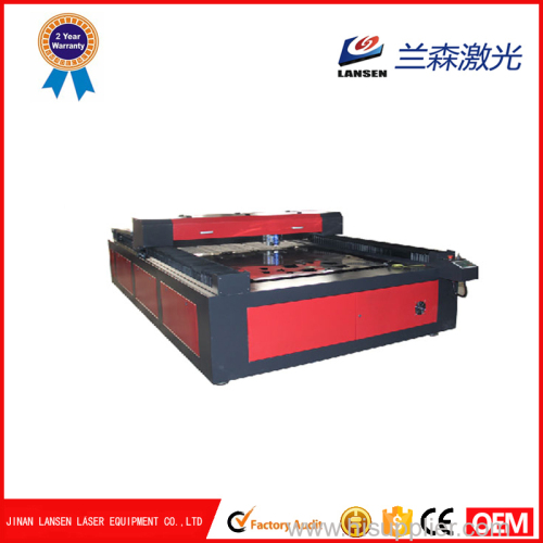 High speed 150W 260W CO2 CNC laser cutting machine for Metal Acrylic Wood
