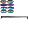 288w Curved Offroad-lights for truck with RGB Halo ring