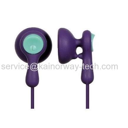 Wholesale Panasonic RP-HV41 In-Ear Wired Ear Drops Stereo Earbud Style Earphones Without Mic Violet Aqua