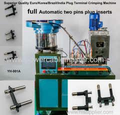 plug insert crimping machines