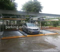 Two-layer Lift-sliding Mechanical Parking System