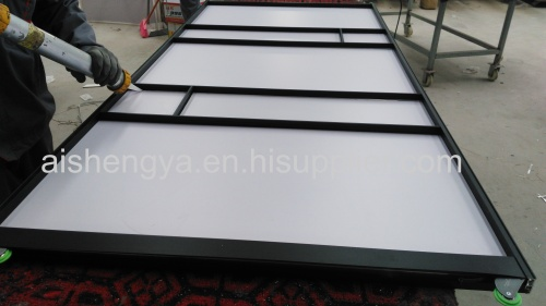 Chinese manufacturer bedroom furniture made by wood sheet with Aluminum frame