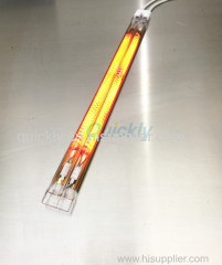 Carbon medium wave infrared heater