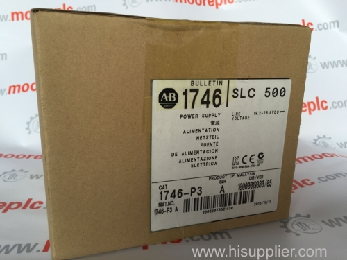 AB 1769CRR3 Input Module New carton packaging