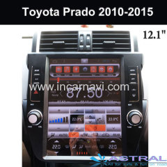 Toyota Prado 2010-2015 Glonass Navigation System Tesla Modell Car Radio Player Wholesale