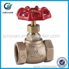 Forged Brass Stop Valve with NPT Thread
