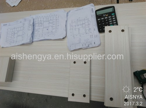Water-proof wood material for home furniture and decoration made by Chinese manufacturer