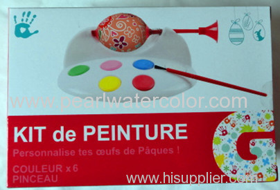 Color BOX packing Watercolor Paint Cake