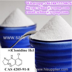 99% Purity Pharm Raw Powder Clonidine Hydrochloride Clonidine Hcl