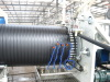 HDPE Hollowness Wall Spiral Pipe Extrusion Line