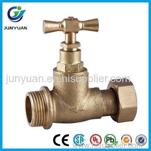 Brass Stop Valve with Union End