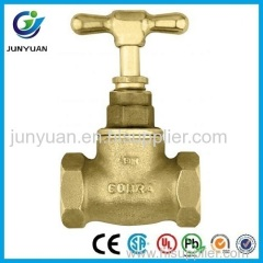 COB-RA type Model Brass Stop Valve