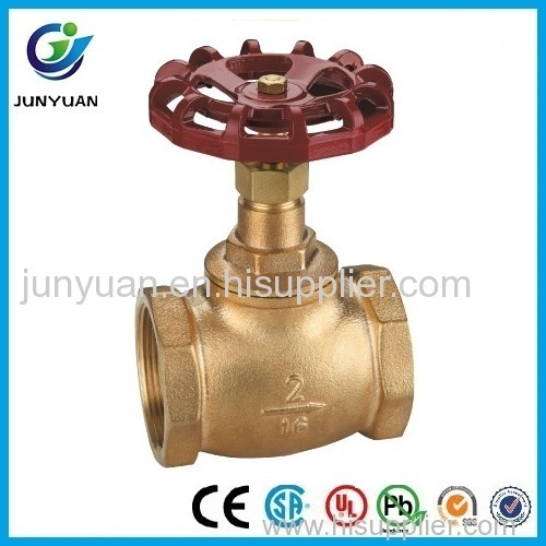 Bronze Stop Valve With Aluminum Handle