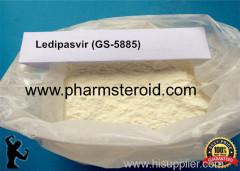 Pharmaceutical SARMS Raw Powder Ledipasvir (GS-5885) CAS:1256388-51-8 White powders