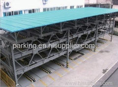 PSH four-storey intelligent lift-sliding mechanical parking system