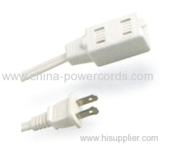 Indoor use 2-conductor Extension cord